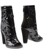 Balmain High Heeled Boots - Lyst