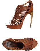 Alexander McQueen Platform Sandals - Lyst