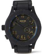 Nixon 5130 Rubber Watch - Lyst