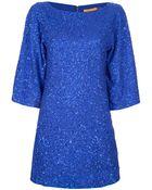 Alice + Olivia Lari Bell Sequin Dress - Lyst