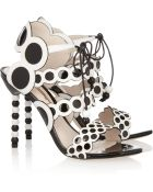 Sophia Webster Yayoi Patent and Leather Sandals - Lyst