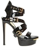 DSquared² 150mm Patent Leather Belted Sandals - Lyst