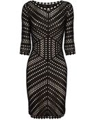Coast Loren Knit Dress - Lyst