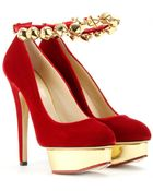 Charlotte Olympia Jingle Bell Dolly Platform Pumps - Lyst
