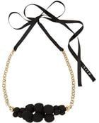 Marni Canvascovered Bead Necklace - Lyst