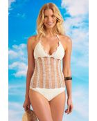 Beauty & The Beach Wish You Were Here One Piece - Lyst