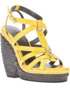 Balenciaga Wedge Sandal - Lyst