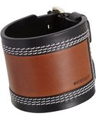 Givenchy Leather Vintage Patch Cuff - Lyst