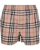 Burberry Checked Short - Lyst