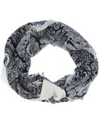 By Malene Birger Paisley Print Scarf - Lyst