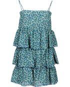 Daniele Alessandrini Short Dress - Lyst
