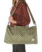 Herschel Supply Co. The Ravine Bag in Olive Polka Dot - Lyst