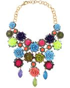 Erickson Beamon Rose Garden Bib Necklace - Lyst