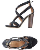 Aperlai Highheeled Sandals - Lyst