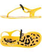 Dolce & Gabbana Flip Flops - Lyst