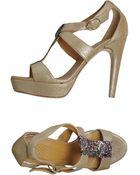 Anya Hindmarch Platform Sandals - Lyst