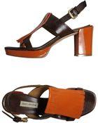 Dei Mille Platform Sandals - Lyst