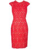Issa Star Crochet Shift Dress - Lyst