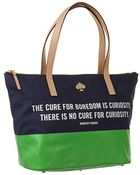 Kate Spade Call To Action Small Coal - Lyst