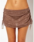 Freya Cha Cha Skirted Bikini Bottom - Lyst