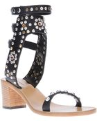 Isabel Marant Studded Sandal - Lyst