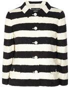 Dolce & Gabbana Striped Cotton-Blend Jacquard Jacket - Lyst