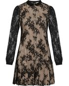 McQ by Alexander McQueen Lace Mini Dress - Lyst