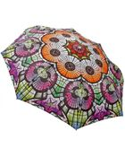 Jean Paul Gaultier Glass Print Compact Folding Umbrella - Lyst