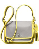 Coach Legacy Archival Two Tone Leather Rambler - Lyst