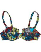 French Connection Electric Forest Bikini Bra Top - Lyst