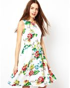French Connection Gwendoline Flower Dress - Lyst