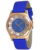 Marc By Marc Jacobs  Gold Tone  Leather Watch - Lyst