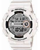G-shock Baby G Mens White Resin Watch - Lyst