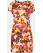 Topshop Modern Vintage Shift Dress - Lyst