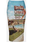 Topshop Motel Tube Skirt - Lyst