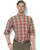 Polo Ralph Lauren Classic-Fit Long-Sleeved Checked Poplin Shirt - Lyst