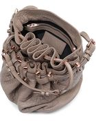Alexander Wang Diego Pebbled Leather Bucket Bag with Rose Gold Hardware - Lyst