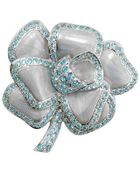 Az Collection Flower Brooch - Lyst