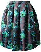 Christopher Kane Heavy Silk Organza Mini Princess Skirt - Lyst