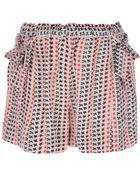 Etoile Isabel Marant Mel Printed Shorts - Lyst