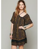 Free People Fp New Romantics Paisley Punch Dress - Lyst