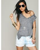 Free People We The Free Kirkland Muscle Tank - Lyst