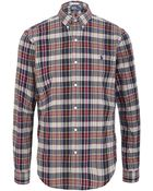 Polo Ralph Lauren Slim Fit Madras Shirt - Lyst