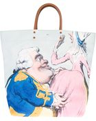 Anya Hindmarch Cartoon Print Shopper Tote - Lyst