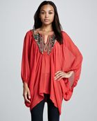 Free People Fortune Teller Caftan Top - Lyst