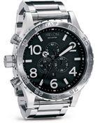 Nixon The 51-30 Chronograph Watch, 51 1/4Mm - Lyst
