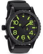Nixon The 5130 Pu Watch in Black 51mm - Lyst