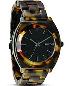 Nixon The Time Teller Acetate Watch, 40Mm - Lyst