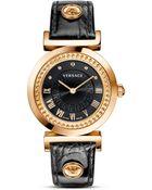 Versace Vanity Watch, 35Mm - Lyst