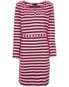 A.P.C. Striped Shift Dress - Lyst